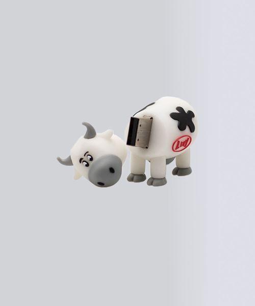 Afbeelding van USB koe