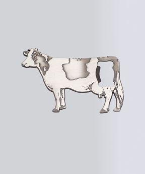 Image de Décapsuleur en forme de vache en acier inoxydable