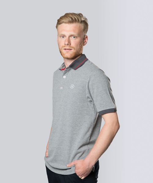 Picture of Polo grey blended