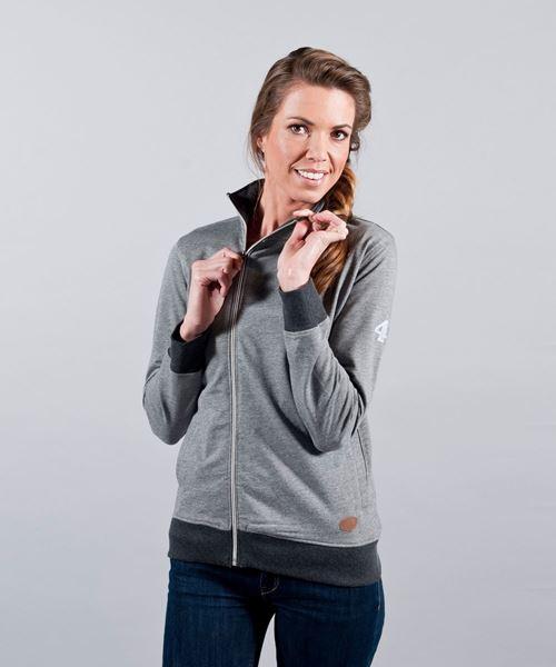 Image sur Sweatshirt gris décontracté pour femmes