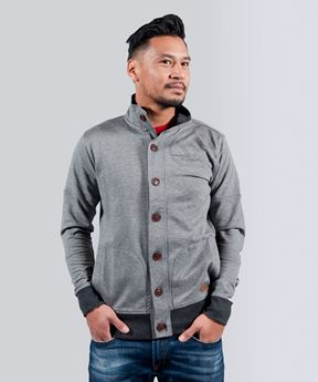 Picture of Casual Men's sweatvest grey