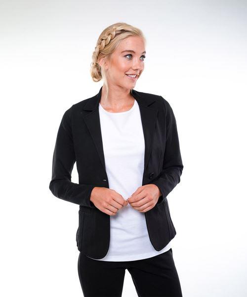 Afbeelding van Dames blazer Lucca (zwart)