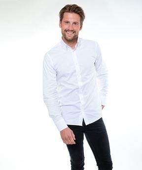 Afbeeldingen van Heren overhemd Denver (wit)