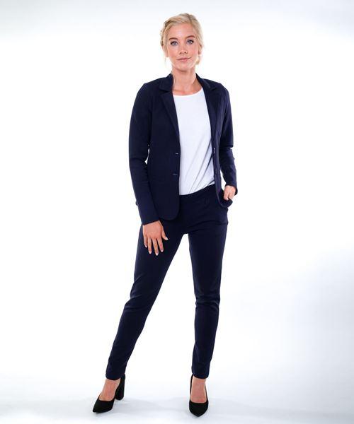 Fits for work Dames blazer Lucca (blauw)