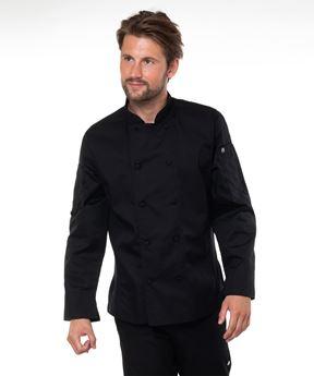 Afbeeldingen van Bowden Chef Coat black