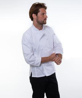 Afbeeldingen van Bowden Chef Coat white