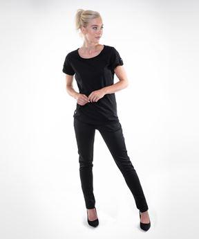 Afbeeldingen van Dames T-shirt Siena (zwart)