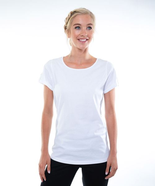 Afbeelding van Dames T-shirt Siena (wit)