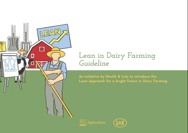 Image sur Lean in dairy farming - Guideline (Le Lean Management dans l'élevage laitier - Guide)