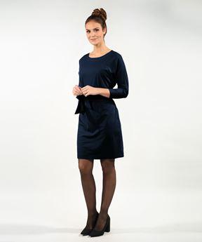 Afbeeldingen van Dames jurk Paris (blauw)