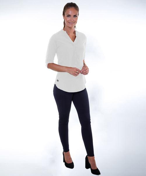 Afbeelding van Dames tuniek Lyon (wit)